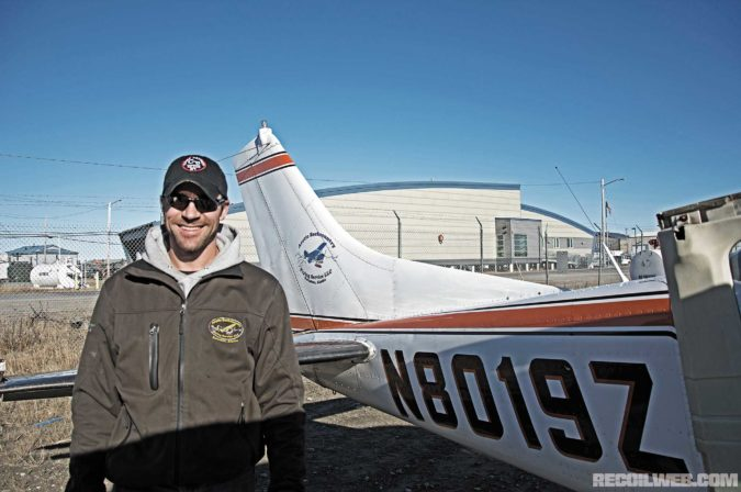 Pilot Eric Sieh of Arctic Backcountry Flying Service has over 20,000 hours of seat time in bush planes.