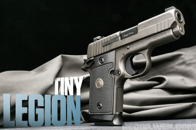 Review: SIG SAUER's Popular P938 Pocket Pistol Gets the High-End Legion Treatment