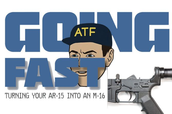 Turning Your AR-15 into an M-16 | RECOIL