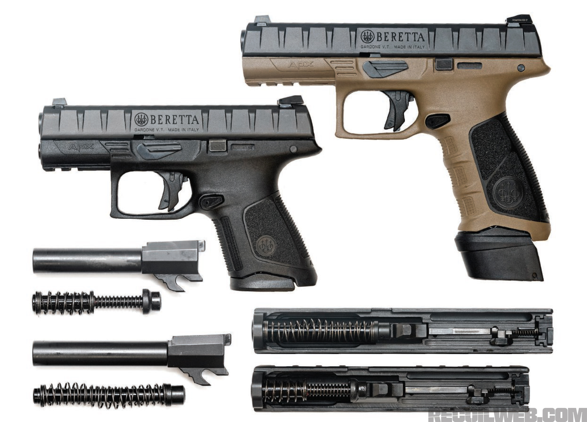 Review: The Beretta APX Centurion and Compact | RECOIL
