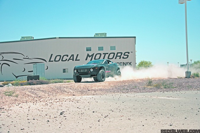 local-motors-ralley-fighter-front-three-quarter-off-roading