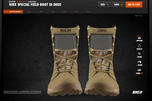 NikeiD Offers Special Field Boot Customization