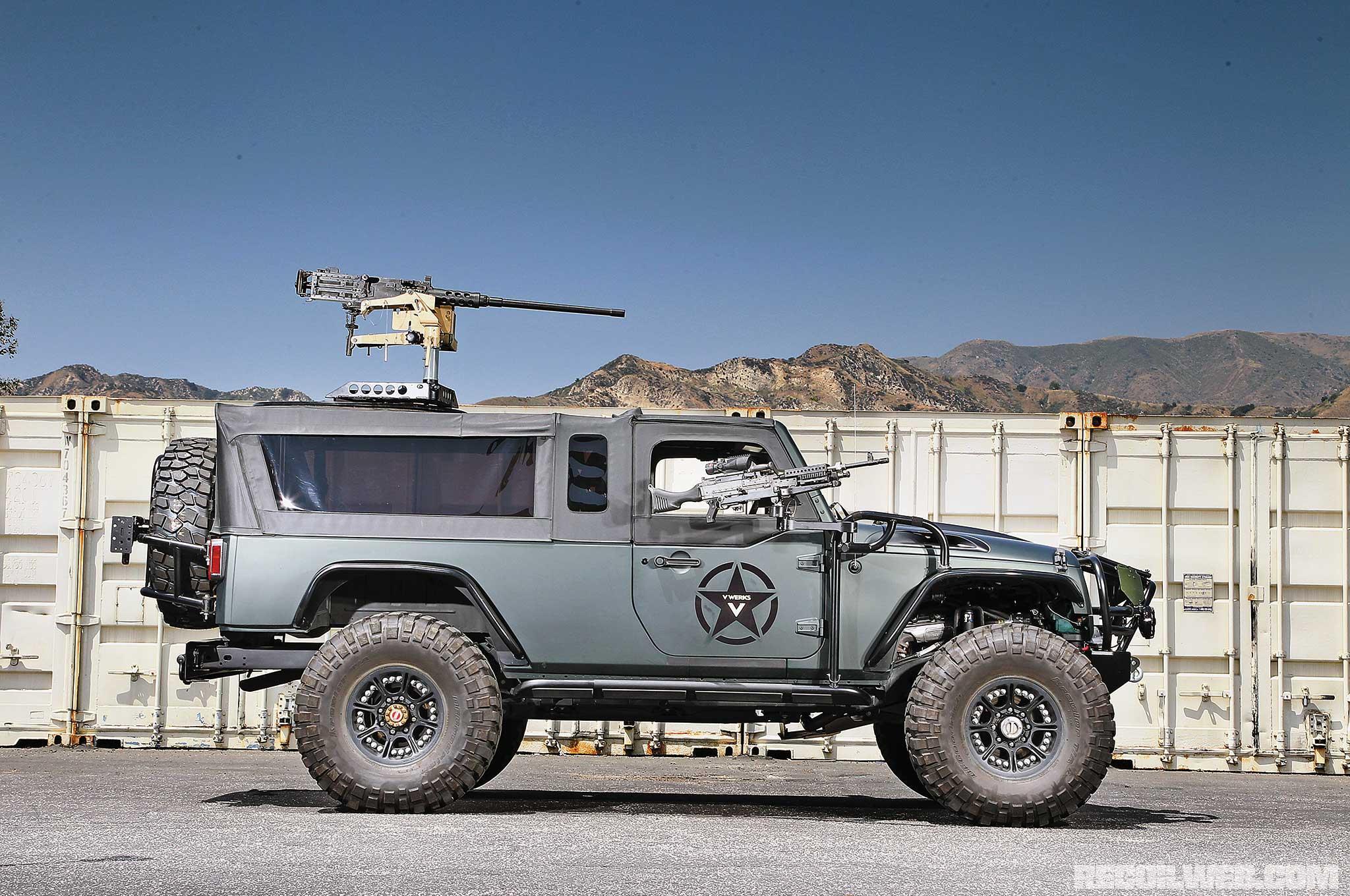 Jeep Wrangler Paint >> VWERKS Recon - Military Buildup