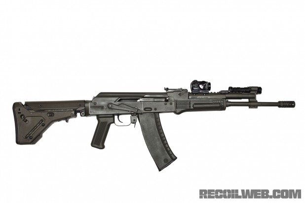 Rifle Dynamics RD-74 - Side View