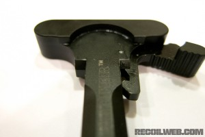 BCM Gunfighter Charging Handle Old Upper Front View