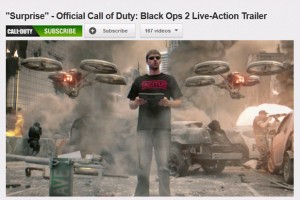 COD Black Ops 2 – Surprise Live Action Trailer