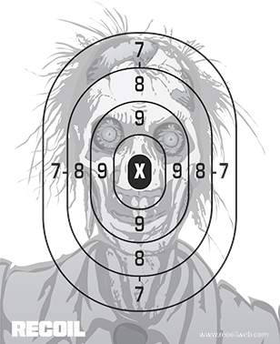 Juicy image intended for printable zombie targets