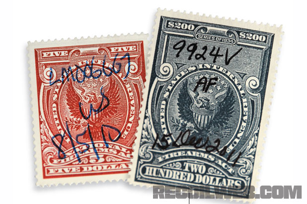 Preview – Stamp Collecting: NFA Tax Stamps