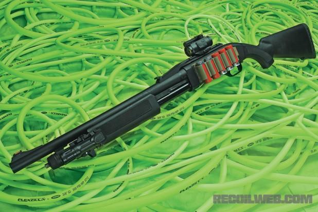 FN P-12 Shotgun – Rack and Roll