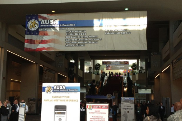 Behind the scenes at AUSA 1