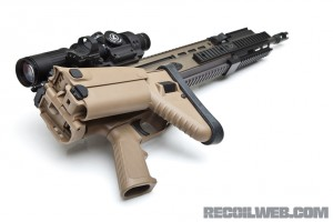 FN SCAR 16S Stock Folded