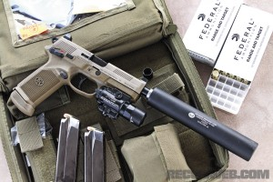 FNX-45 Tactical -  AAC Evolution and SureFire X400 Ultra