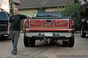 Jesse James West Coast Choppers Truck