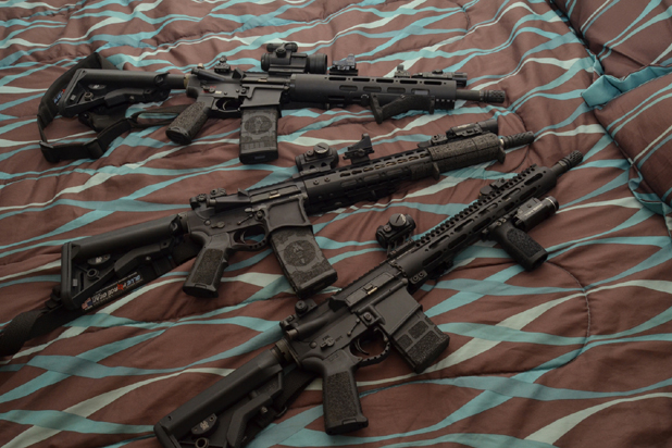 Cowan-AR15 for home defense clearing a home -many configurations available