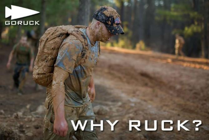 GoRuck muddy
