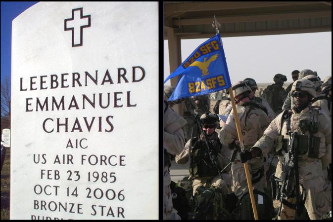 Happy Memorial Day Weekend - the real cost - A1C LeeBernard Chavis -2