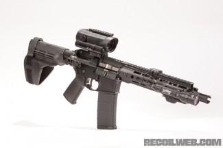 PWS MK109 - Hensoldt 4x30 and SureFire Scout M600