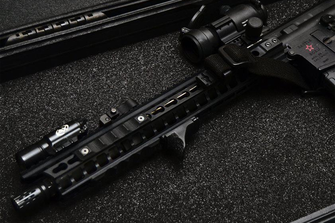 Inexpensive AR - a subjective term and maybe hard to find Cowan's rifle