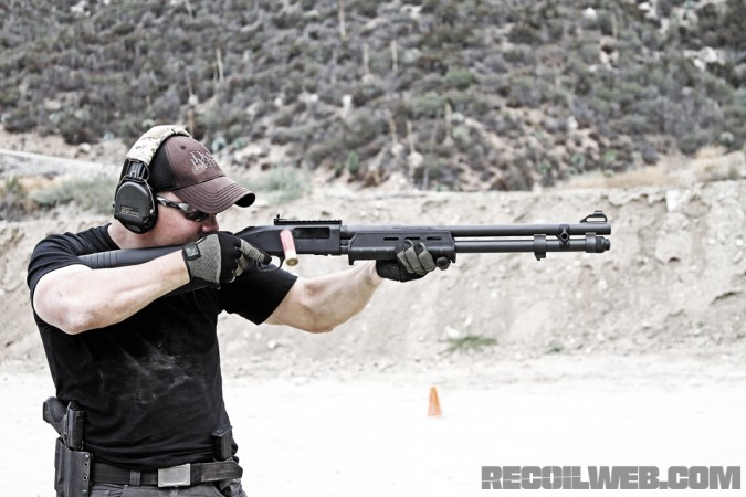 Firing-the-Mossberg-590A1-Magpul