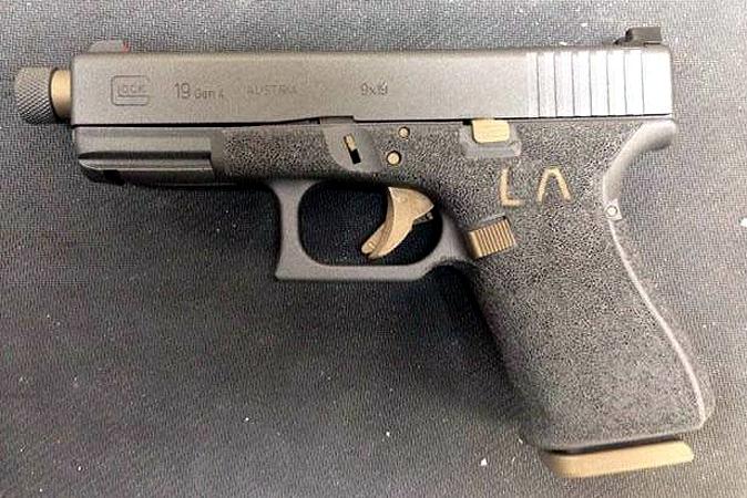 Gunworx - Glock 19 with initials