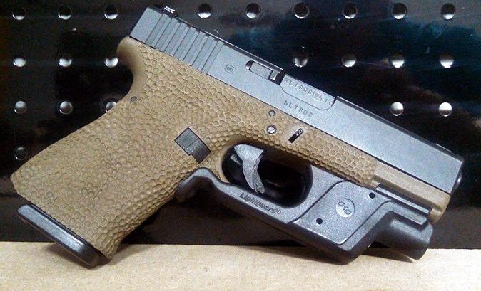 Gunworx - custom Glock with Crimson Trace
