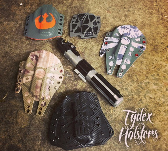 Tydex Holsters Millenium Falcon hoster 5