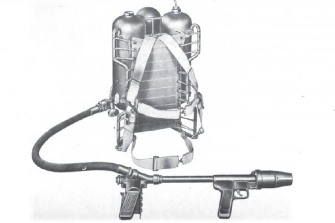 Portable Flame Thrower M2 1 674