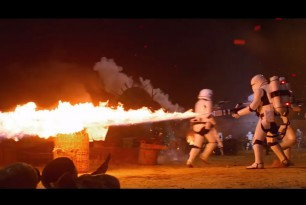 Stormtroopers with flamethrowers