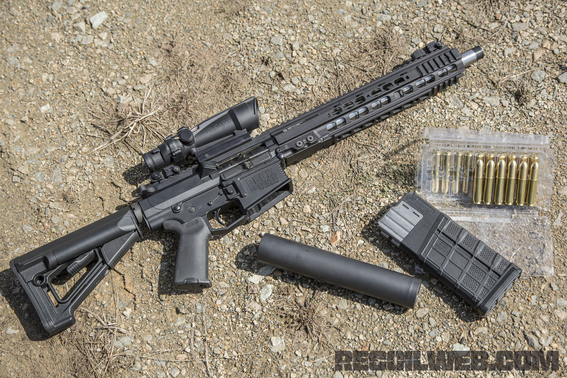 50 cal ar brought to you by beck defense and lancer
