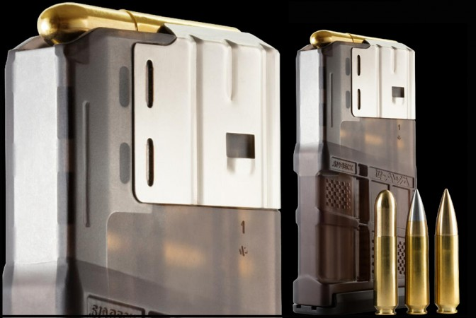 Lancer Systems builds Advanced Warfighter Magazine for Beck Defense .510 cartridge