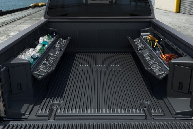 Truck Bed Accessories >> Aftershot Nissan Truck Accessories Recoil