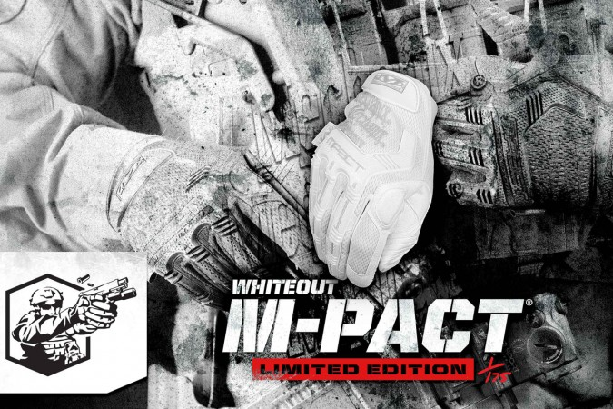 Mechanix Wear Limited Edition Whiteout MPACT Gloves 4