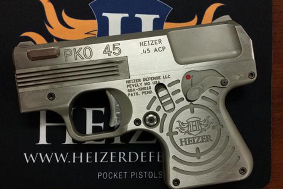 New: Heizer Defense PKO-45