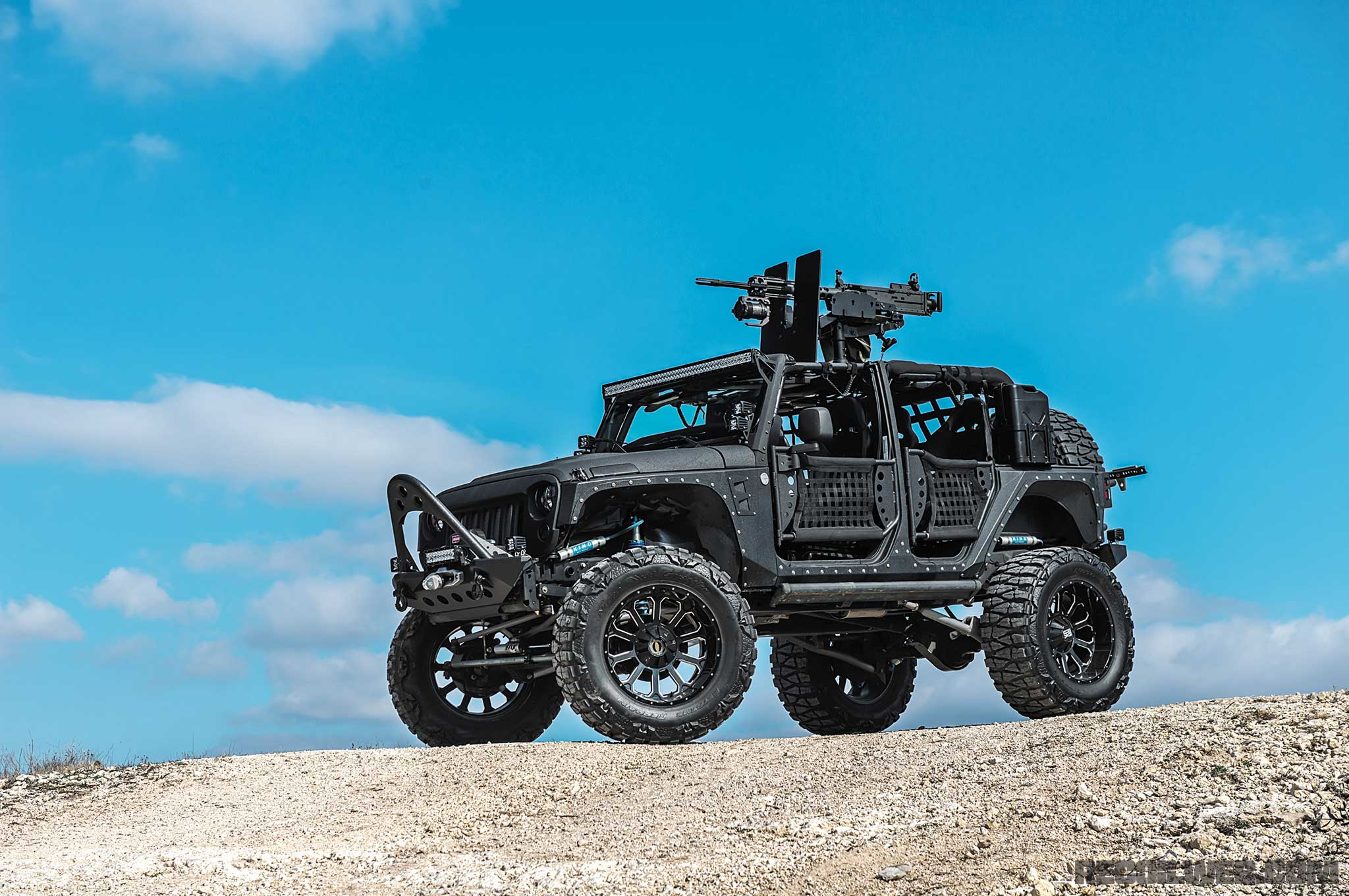Jeep Wrangler Body Armor >> Starwood Motors Bug-Out Jeep Wrangler - Texas Instruments | RECOIL