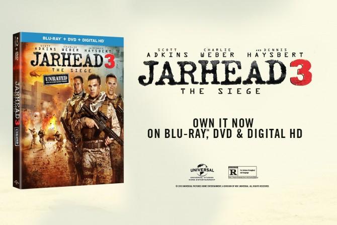 Jarhead 3: The Siege Blu-ray Combo Giveaway