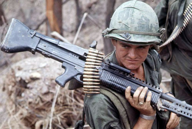 sixty interesting things to know about the m60 machine gun recoil