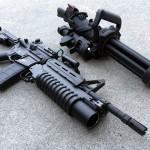 Empty Shell Defense XM556 Microgun-2