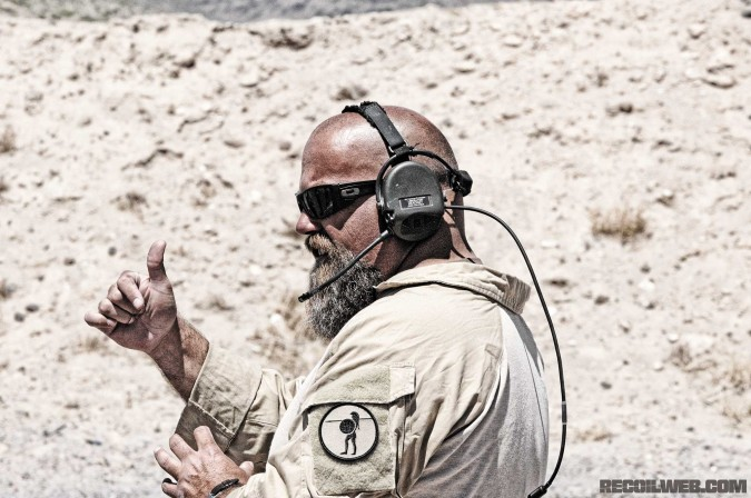 John Chapman, EAG Tactical Instructor.