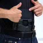 pistol mask holster