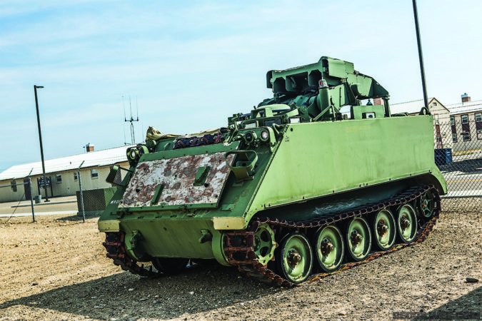 It wasn't long ago that an M901 ITV (Improved Tow Vehicle) was a battlefield mainstay.