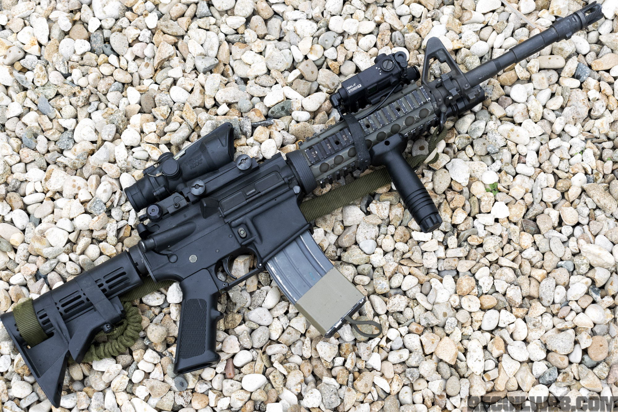 war rifle re creation oif m4 carbine recoil