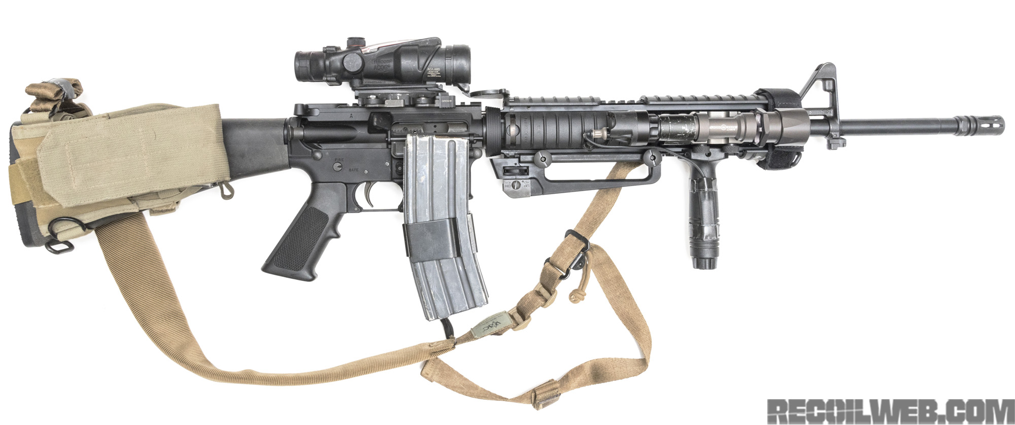 buildsheet m16a4 oif edition recoil