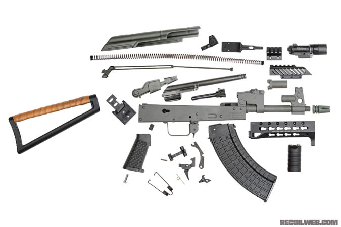 Lots of parts and pieces went into this rifle to make it vastly more practical.