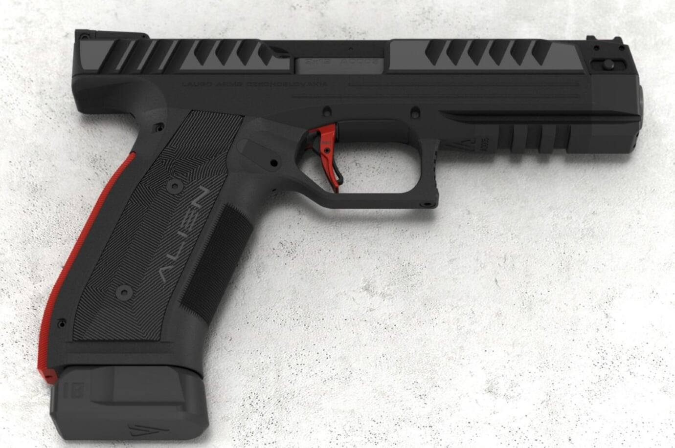 Alien Pistol From Laugo Arms in 9mm Teased | RECOIL