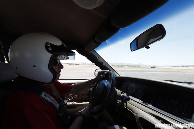 Instructor Austin Robison has a racing background and has trained some big names in the industry. He also makes Ray-Ban Wayfarers look better than anyone else we've seen.