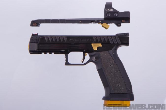 Alien pistol 3