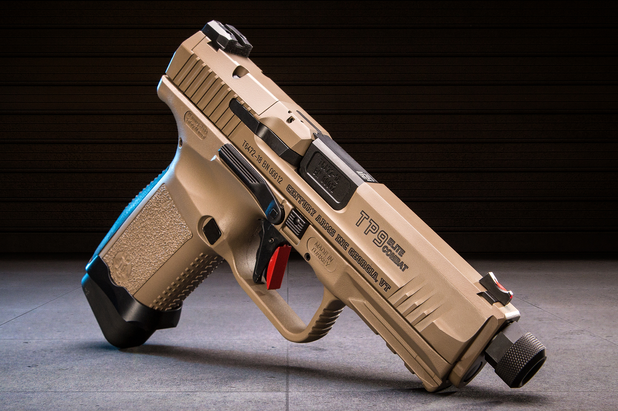 The New Canik TP9 Elite Combat From Century & Salient | RECOIL