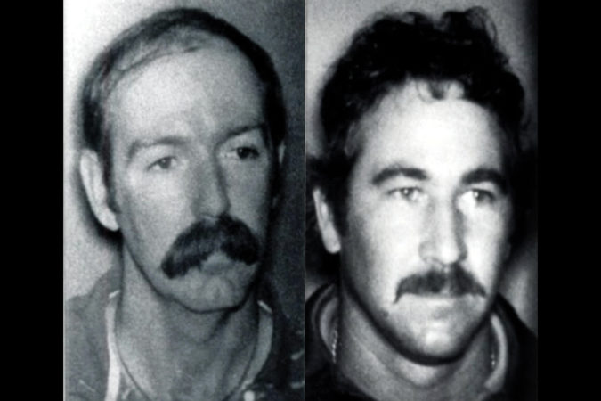 Left: William Matix and Michael Platt killed two FBI agents before they were also shot and killed during one of the FBI's most notorious shootouts. (Driver's license photos)