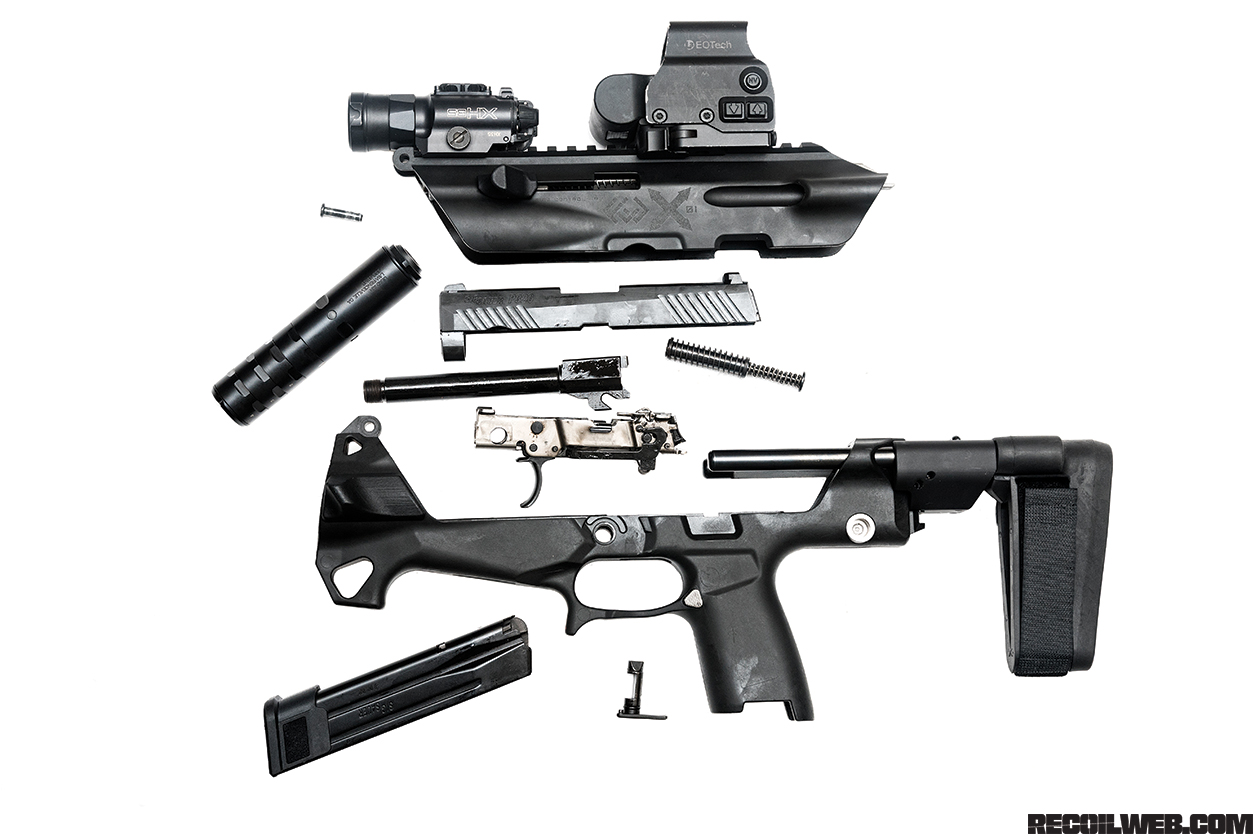 Review: Fire Control Unit X01, a Modular Pistol Chassis | RECOIL