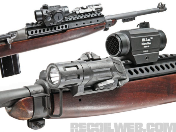 A decent RDS allows the user to exploit the .30 Carbine round out to its ballistic limits. A magnified optic would be out of place on a 200-yard carbine.